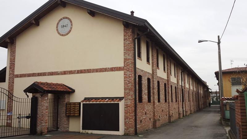 Certosa di Pavia casa semindipendente con giardino e posto